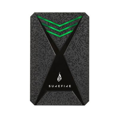 "Kõvaketas väline HDD SureFire GX3 Gaming HDD 2TB 2.5"" SuperSpeed USB3.2 Gen1 5Gbps Black/multicolor-LED"