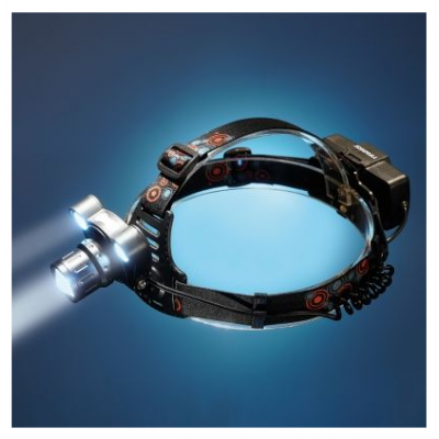 Pealamp professionaalne TIROSS TS-1198, laetav, CREE-XML T6/10W LED, sensoriga