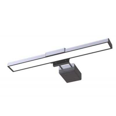 Valgusti UNILUX Travelight sülearvuti külge LED 4W; L-28cm x S-9,5cm ; USB connector 5V/1A 1.0m kaabel; 2 900-6 500K, 100lm/W/ must