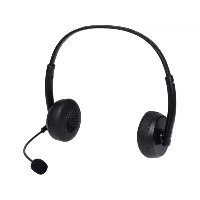 Kõrvaklapid+mikrofon Sandberg USB Office Headset Saver Stereo, in-line volume/mute, 33mm driver, 20Hz-20kHz, USB-kaabel 1.5m, 2YW