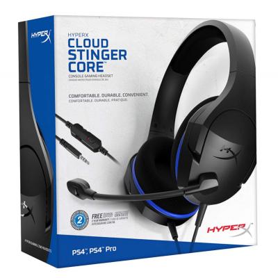 Kõrvaklapid+mikrofon Kingston HEADSET HYPERX CLOUD STINGER CORE HX-HSCSC-BK 3.5mm stereo 4-pin 1.3m