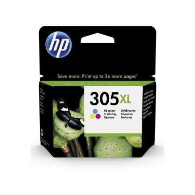 Tint HP 305XL 3YM63AE Tri-color värviline suuremahuline 4ml 240lk for Deskjet 23XX/27XX/Plus 41XX; Envy 60XX/Pro 64XX