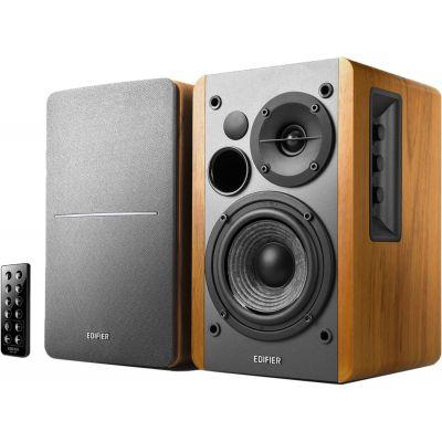 Kõlarid Edifier R1280DB Speaker type 2.0, 3.5mm/Bluetooth/Optical/Coaxial, Brown, 42 W, Bluetooth