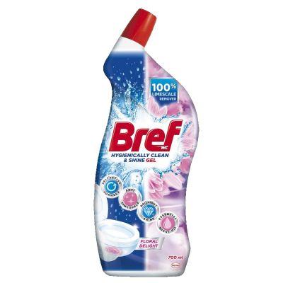 Puhastusvahend BREF WC gel Floral Delight 700ml