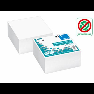 Märkmepaber iseliimuv INFO, 75x75mm (kuubis 400l.),valge,antimikroobne