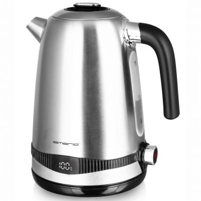 Kettle with temp setting Display 1.7L emerio