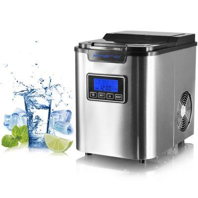 Jääkuubikute masin Emerio IM-111502 2.2L veepaak, 3 suurust, 120W 12kg/24h displei