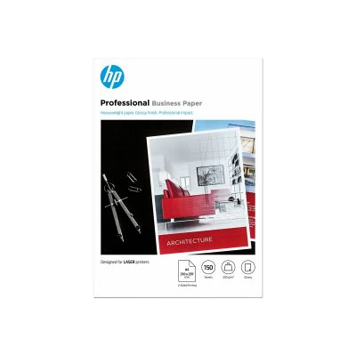 Paber HP 7MV83A Professional Business Paper Glossy Laser A4/150lehte 200gr/m2 2-sided
