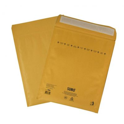 Turvaümbrik SUMO nr. 20 pabermasstäitega (sisemõõt 345x470mm), välismõõt 365x470mm