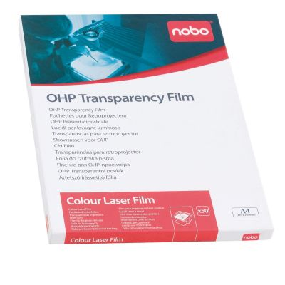 Grafokile NOBO OH Film tindiprinterile, 50 lehte A4, inkjet film