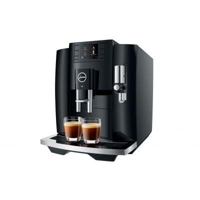 Espressomasin Jura E8 Piano Black must (EB 2020) veepaak 1.9L, oamahuti 280gr, kohvipaksusahtel 16portsjonit