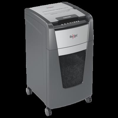 Paberipurustaja Rexel Optimum AutoFeed+ 225X, 4x26mm P4, 10-lehte/225-lehte automaatsöötjast, 44L, Small Office 5-10 users