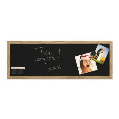 Tahvel musta magnetpinnaga 30140, H-20cmx60cm, raam tamm