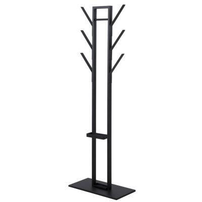 Riidenagi/põrandanagi VINSON vihmavarju hoidjaga AC80779, 56x28xK-165cm/ must metall