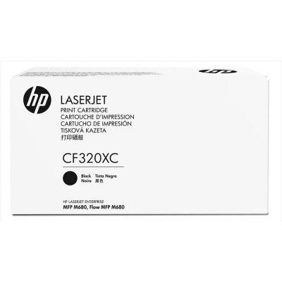 Tooner HP CF320XC Contract 653X Black/must 21000lk Color LaserJet Enterprise Multifunction MFP M680dn