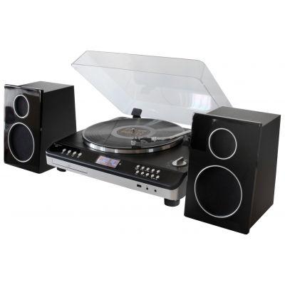 Muusikakeskus Soundmaster EliteLine PL979SW, vinüülplaadimängija, DAB+ FM-raadio, CD/MP3, USB