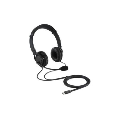 Kõrvaklapid+mikrofon Kensington K97601WW Hi-Fi USB-C Headphones with Mic kõrvapealsed, must, USB-C kaabel 2m