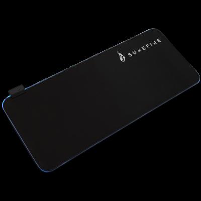 Hiirepadi SureFire Silent Flight RGB-680 Gaming Mouse Pad 68x28cm, 14 Adjustable RGB Light modes, 1.8m USB cable