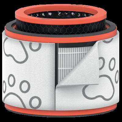 Õhupuhasti LemmikloomaFilter Leitz TruSense Z-2000 Pet Drum Medium (Pestav eelfilter,HEPA filter,Activated carbon pellet filter)