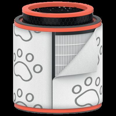 Õhupuhasti LemmikloomaFilter Leitz TruSense Z-3000 Pet Drum Large (Pestav eelfilter,HEPA filter,Activated carbon pellet filter)