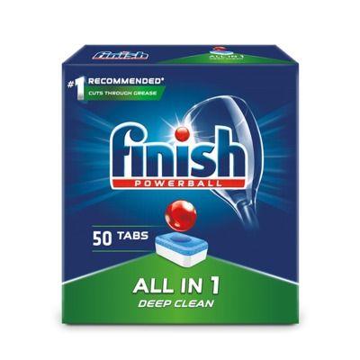 Nõudepesumasina tabletid FINISH All-in-1 50 tk/pk