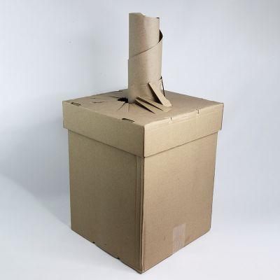 Täitematerjal kastis, 450m rullis, laius 35cm, Boxfill