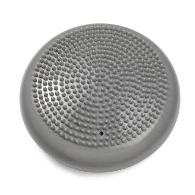 Aktiivpadi väike, masseeriv, D25 cm, kõrgus 7,5 cm, kaal 1000 g, PVC, hall