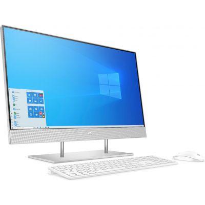 "Lauaarvuti HP AIO 24"" FullHD AG Touch Ryzen 5 4500U 8GB 512GB SSD klaviatuur, hiir, MS Windows 10 Home, valge"