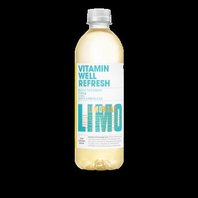 Vitamiinijook Vitamin Well Refreshl 0,5l (plast)