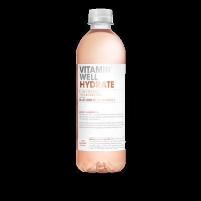 Vitamiinijook Vitamin Well Hydrate 0,5l (plast)