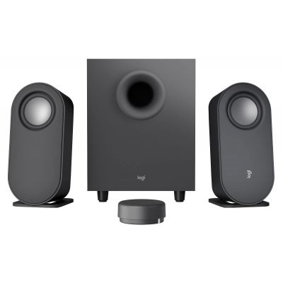 Kõlarid Logitech Z407 Bluetooth5.0 Computer Speakers with Subwoofer and Wireless control, 2.1 40W RMS, microUSB, 3.5mm AUX, DSP
