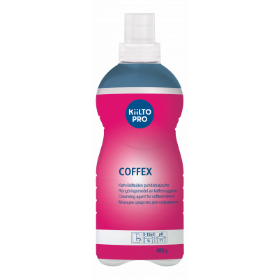 Puhastusaine kohvikeetjatele KIILTO Coffex 800gr