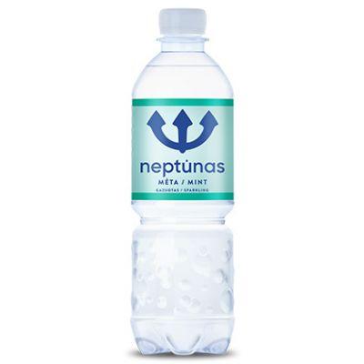 Mineraalvesi NEPTUNAS Mint 0,5 (karboniseeritud,plast)
