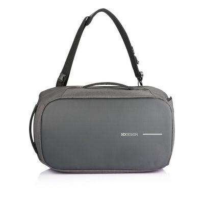 "Sülearvuti seljakott Bobby Duffle anti-theft Travel Bag, Black/must, RFID protected, for 17"" laptop, 30L, 1.51kg, RPET"