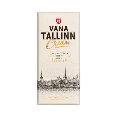Tume shokolaad Vana Tallinn Cream tädisega 104g