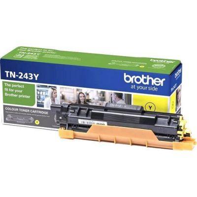 Tooner Brother TN243Y Yellow 1000lk@5% DCP-L3510CDW, L3550CDW, HL-L3210CW, L3230CDW, L3270CDW, MFC-L3710CW, L3730CDN, L3750CDW, L3770CDW