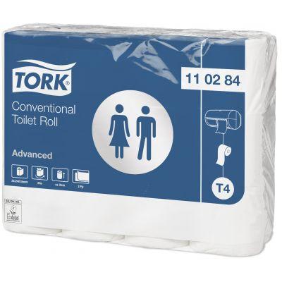 Tualettpaber Tork T4, 2-kihiline, 24 rulli/pk, 34,72m/rull
