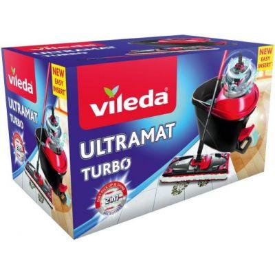 Põrandapesukomplekt VILEDA Easy Wring Turbo Ultramat (mopp+ämber)