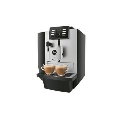 Espressomasin Jura X8 Platin (EA); Oakont.500gr, Veepaak 5L, kohvipaksusahtel 40p. (kuni 80 kohvi päevas), Pro garantii 1 aasta