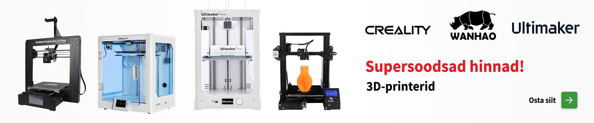 Soodsad 3D printerid