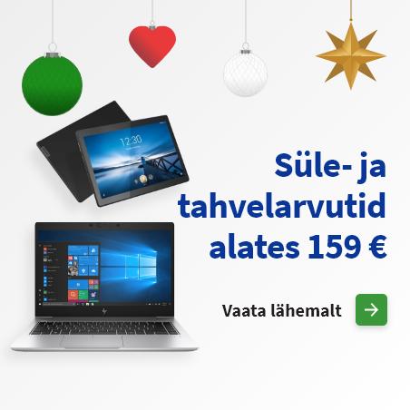 Süle- ja tahvelarvutid alates 159 €