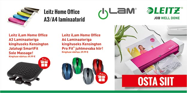 LEITZ HOME OFFICE A4/A3 LAMINAATORID