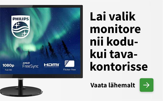 Monitoride pakkumised