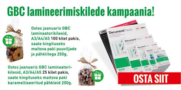 GBC lamineerimiskilede kampaania