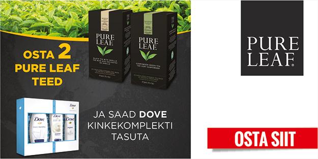 Pure Leaf tee kampaania!